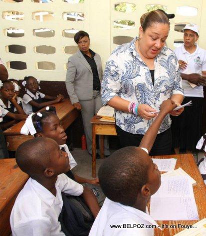 PHOTO: Haiti - Lancement Programme Klinik Mobil nan Lekol yo