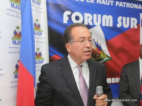 PHOTO: Carl Alexandre - Representant adjoint du Secretaire general des Nations-Unies en Haiti