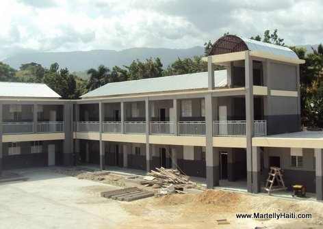 PHOTO: Haiti Education - Nouveau Lycee Mar Joffrey de Grand-Gosier, Sud-Est Haiti, ke Gouvenman Martelly-Lamothe la fek konstwi