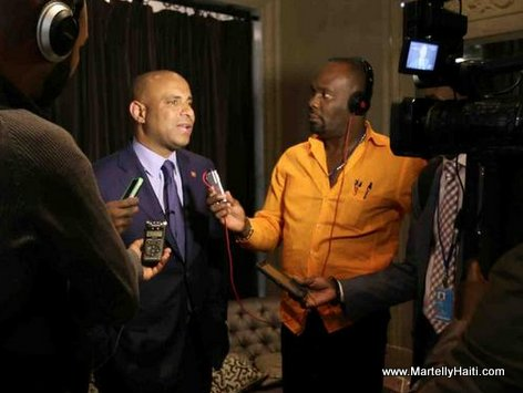 Haitian Media Interview Haiti Prime Minister Laurent Lamothe in New York