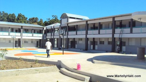 PHOTO: Haiti Education - Nouveau Lycee National Fito Garcia de Grand Goave, Ouest Haiti