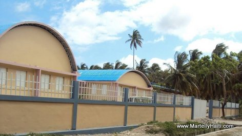 PHOTO: Haiti Education - Nouveau Lycee National de Saint Jean du Sud, Sud Haiti...