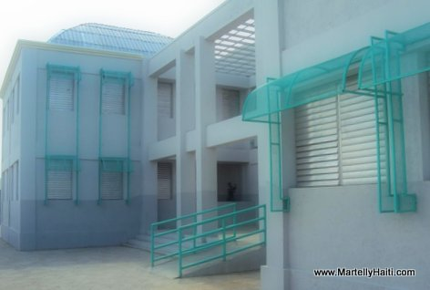 PHOTO: Haiti Education - Nouveau Lycee National Henry Christophe de Petite-Riviere de l'Artibonite, Artibonite Haiti...