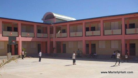 PHOTO: Haiti Education - Nouveau Lycee National Fortune Audate de Monbin Crochu, Nord-Est Haiti...