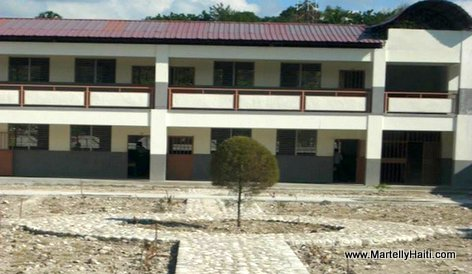 PHOTO: Haiti Education - Nouveau Lycee National de Saint Joseph de l'Asile, Nippes Haiti...