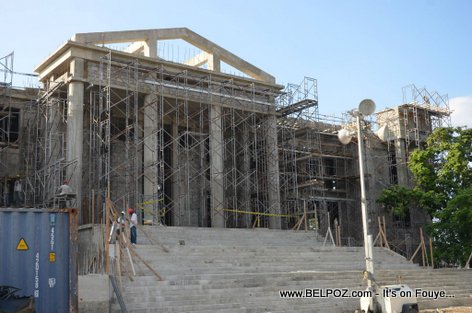 PHOTO: Haiti Reconstruction - Cour de Cassation preske fini