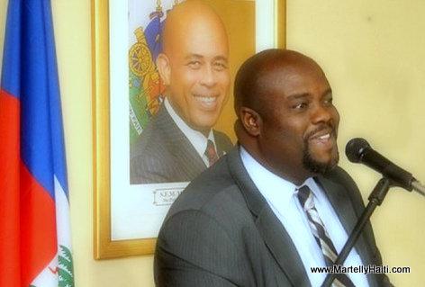 Rudy Hériveaux - Haiti Ministre de la Communication
