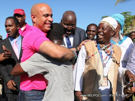 PHOTO: Haiti PM Laurent Lamothe nan ville Port-de-Paix