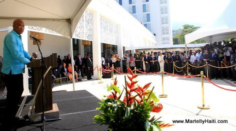 PHOTO: Marriott Port-au-Prince Hotel Inauguration