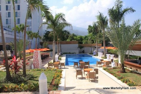 PHOTO: Marriott Port-au-Prince Hotel - Pool area