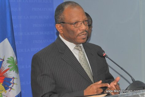 PHOTO: Duly Brutus - Haiti Minister of Foreign Affairs