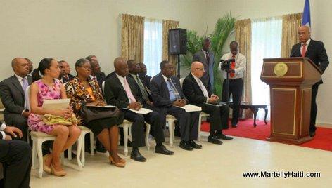 Discours du President de la Republique a l'Occasion de la Ceremonie d'Installation du Conseil d'Administration des Organes de Securite Sociale (CAOSS)