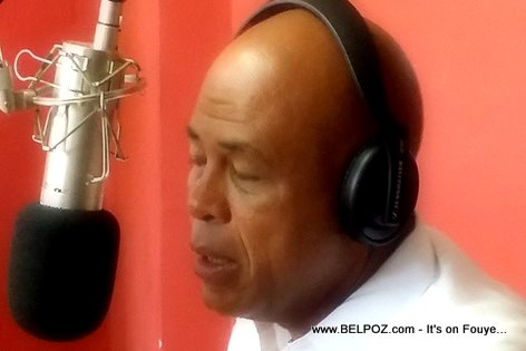PHOTO: Haiti - President Martelly on Chokarella