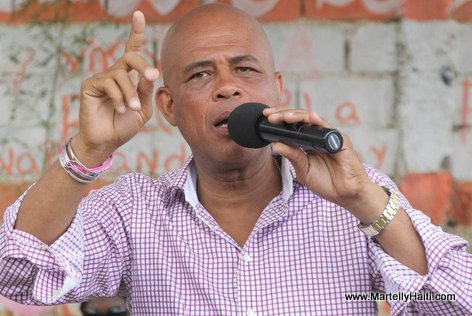 Intervention du President Michel Martelly a Guibe