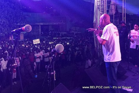 PHOTO: Haiti - President Martelly lanse kanpay PKTK nan vil Cap Haitien