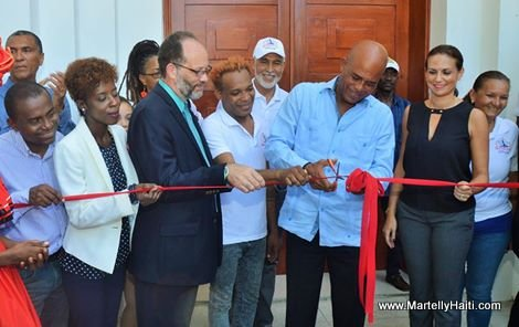 PHOTO: Haiti - President Martelly, Inauguration Musee du Bureau National d'Ethnologie (BNE)