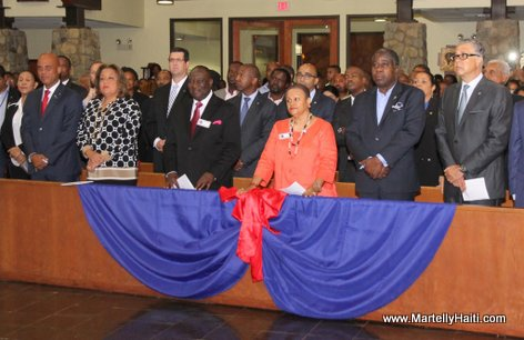 Haiti President Martelly visits Spring Valley New York