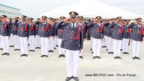 PHOTO: New Haitian Army - Corps de Defense de la Republique d'Haiti