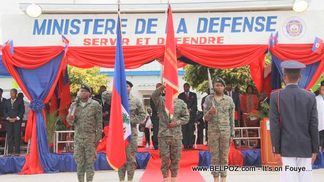 PHOTO: The New Haitian Army - Corps de Defense de la Republique d'Haiti