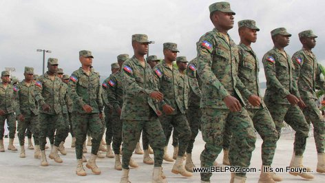 PHOTO: Haiti Military - Meet the New Haitian Army