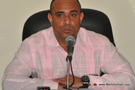 Premier Ministre Laurent Lamothe dans son intervention
