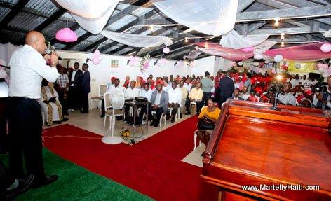 President Michel Martelly - prodikte ak manchann legim kenskoff