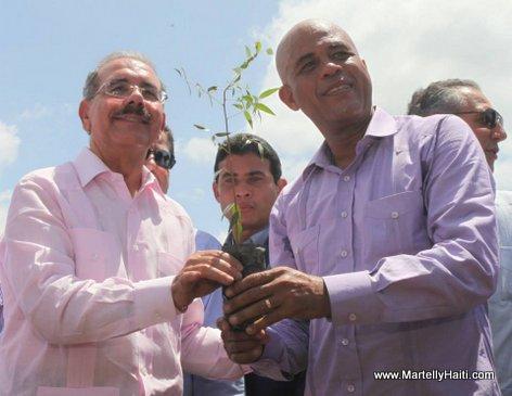 President Michel Martelly & President Danilo Medina
