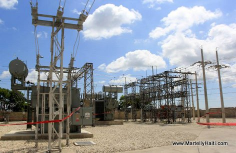 Rehabilitee, la Sous-station du Canape Vert passe de 33.6 a 60 MW