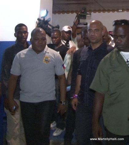 Premiere Ministre Laurent Lamothe - Visites surprises nocturnesdans des commissariats