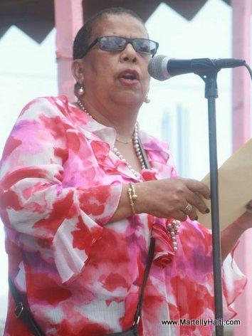 Mme Michelle Lisette Casimir, Agent executif de l'Administration communale de Saint-Michel de l'Attalaye