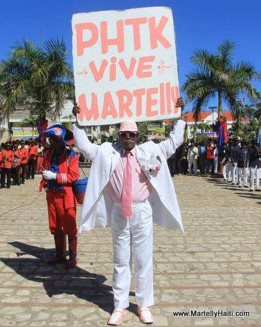 PHTK - Vive Martelly - Yon Mesye an Rose e Blan ak pankat li...