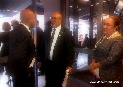 President Martelly et le President du Suriname Desi Bouterse - Afrique du Sud