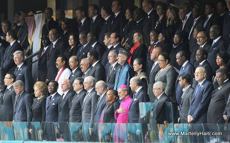 Haiti President Martely among Plethora of World Leaders