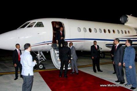 President Martelly  Venezuela