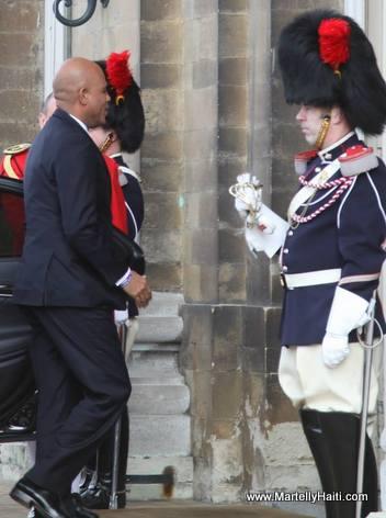 Rencontre: President Michel Martelly et ROI PHILLIPE 1er de Belgique