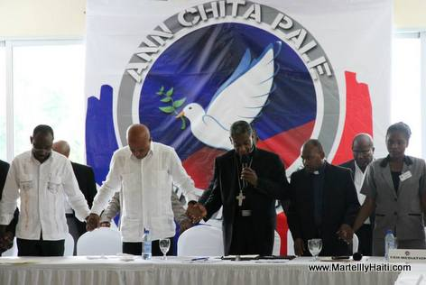 Haiti - Protocole d'Accord El Rancho - Lapriye pou fini