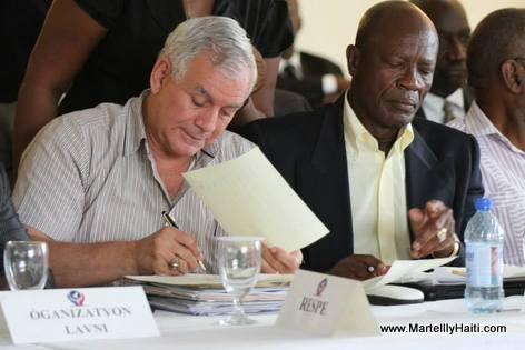 Haiti - Protocole d'Accord El Rancho - Charlito Baker ak Himler Rebu ap Siyen