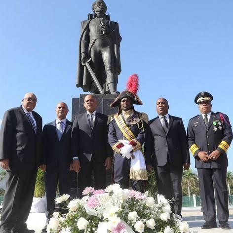Cérémonie de commémoration de la Mort de Toussaint Louverture