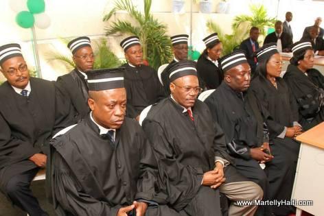 Haiti - Les dix (10) nouveaux Juges de la Cour Superieure des Comptes