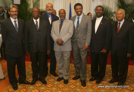 Immortel Dany Laferriere Reception Officielle - Palais National Haiti