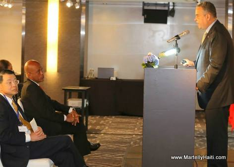President Martelly in Taiwan - Meeting with the Investors