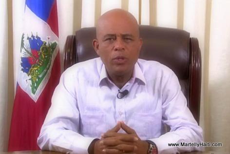 President Martelly nan yon diskou sou fomasyon KEP 6 Me 2014 la