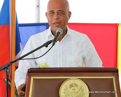 President Martelly - Inauguration Hopital ARY Bordes Beudet Haiti