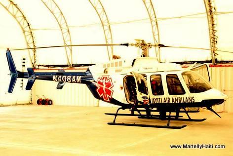 Helicopter Ambulance - Haiti Air Ambulance - Ayiti Air Anbilans