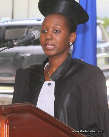 President Martelly - Graduation of 39 Student Judges in Haiti