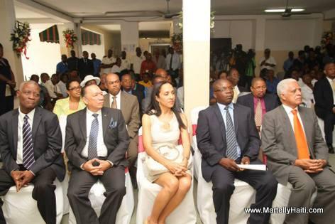Haiti Sante - Yon Nouvo Pavillon fek Inaugure nan OFATMA