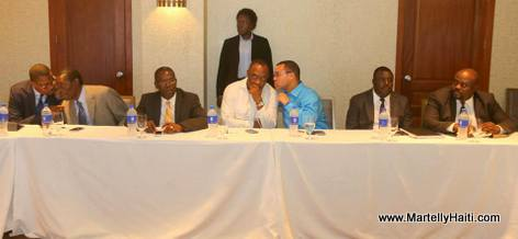 Rencontre President Martelly avek Senate yo Mardi 3 Juin 2014