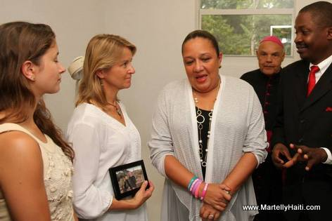 Sohia Martelly - Inauguration of outpatient clinic at Hopital Sacre Coeur de Milot