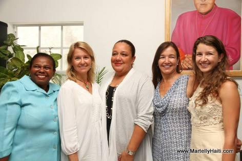 Sophia Martelly - Inauguration clinique externe Hopital Sacre Coeur - Milot, Nord Haiti