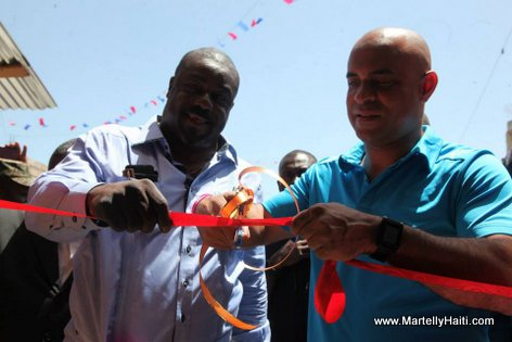 PM Laurent Lamothe - Inauguration Marche Carrefour-Feuilles